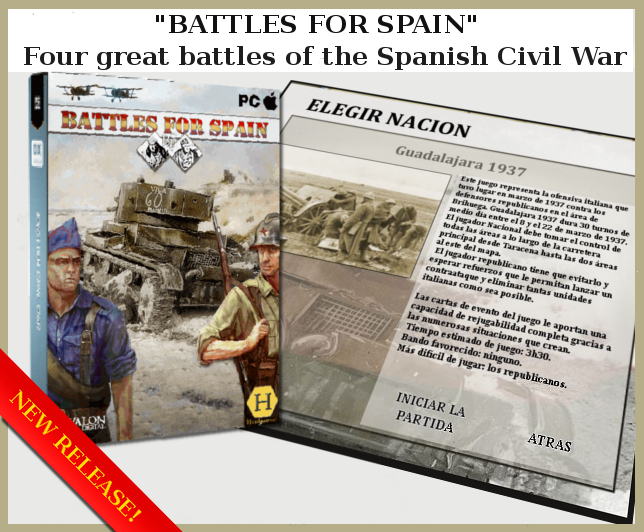 wargame Battles For Spain