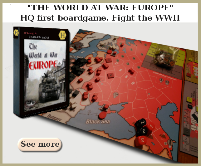 boardgame TWAW:Europe