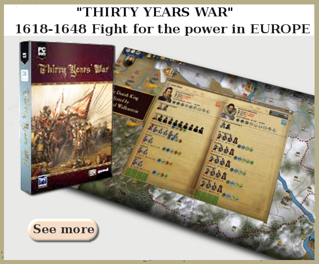 Wargame Ageod Thirty Years War