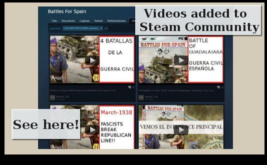 Battles For Spain videos
