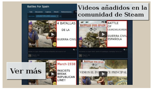 Videos wargame Battles For Spain