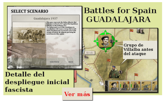 Batalla de Guadalajara. Battles For Spain