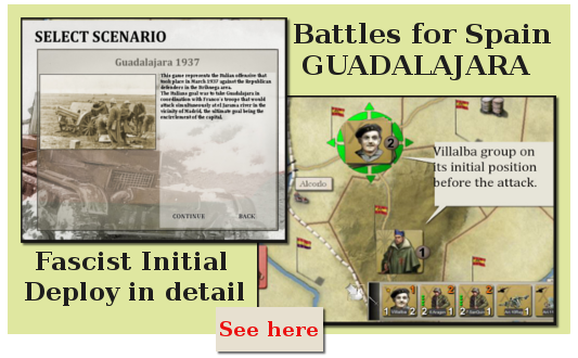 Battle of Guadalajara Fascist Deployment